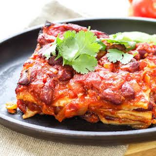 Enchilada Lasagna.