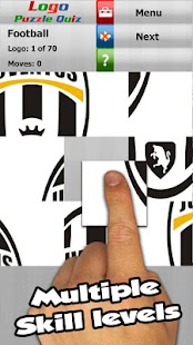 Football: logo puzzle quiz- screenshot thumbnail
