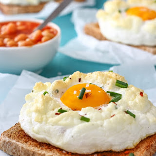 Breakfast Cloud Eggs.