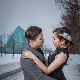 by JO Leong - Wedding Bride & Groom