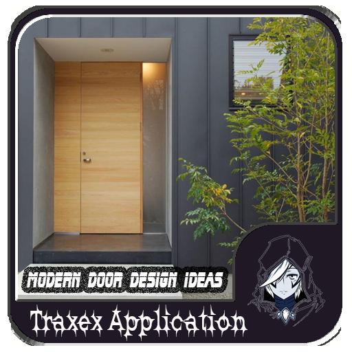 生活の現代のドアのデザインのアイデア LOGO-記事Game