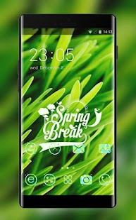 Green Nature Theme Spring Live Wallpaper - náhled