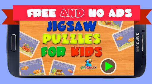 Jigsaw Puzzle For Kids Sea