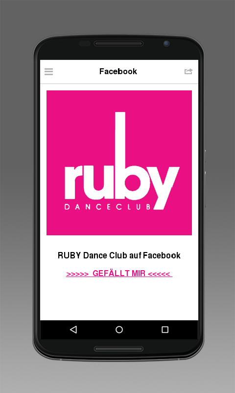 Ruby Danceclub- screenshot