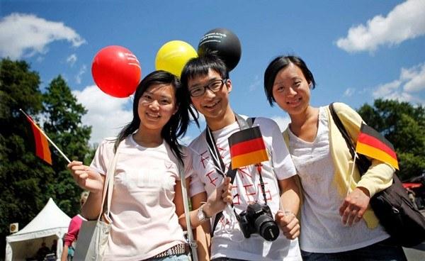 Sinh viên có thể du học nước Đức bằng tiếng Anh
