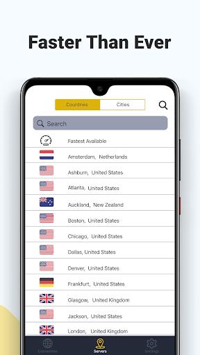 Faster VPN - Safe & Unlimited 1.0.0.5.65824 screenshots 4