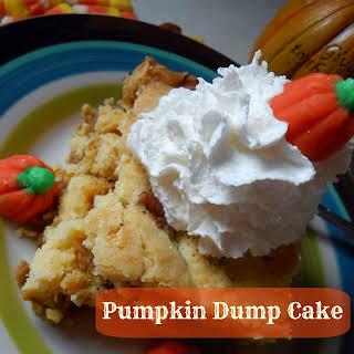 Pumpkin Dump Cake (AKA Pumpkin Crack Cake - Gluten Free Option).