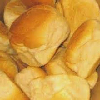 Hot Pan de Sal with Corned Beef Filling #BreadWorld