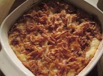 Cheesy Baked Mashed Potatoes