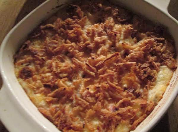 Cheesy Baked Mashed Potatoes Recipe