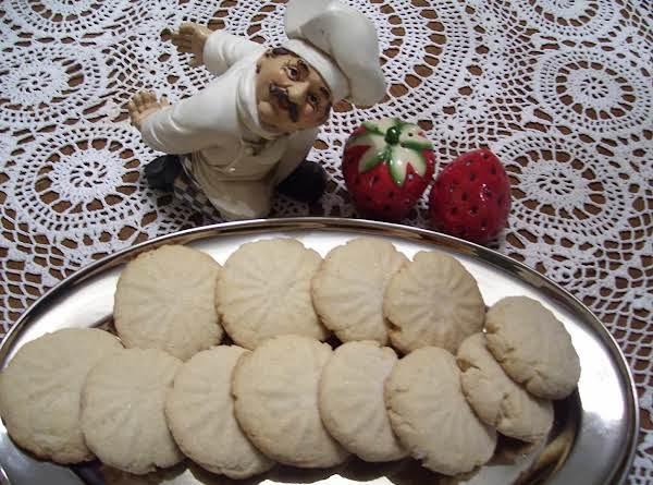 Crisp Butter Cookies By Freda Recipe