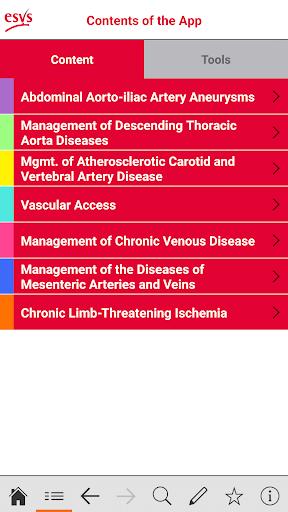 esvs clinical guidelines screenshot 2