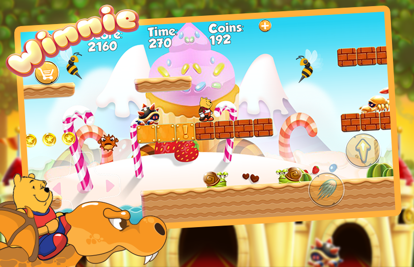 Winie Adventure The Pooh- screenshot