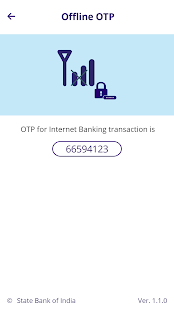 SBI Secure OTP- screenshot thumbnail