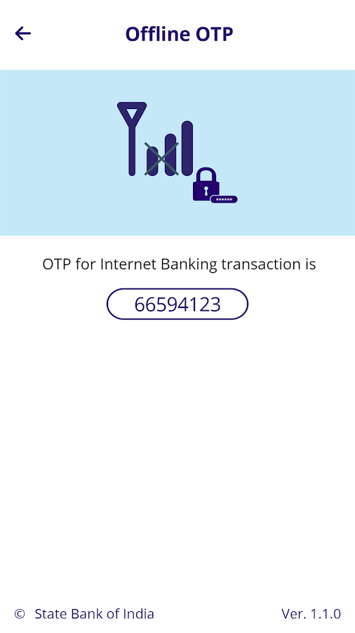 SBI Secure OTP- screenshot