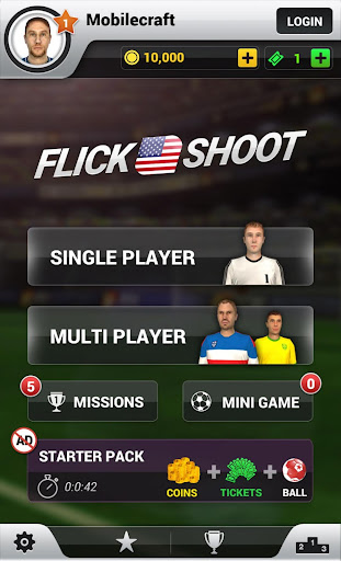 Flick Shoot US: Multiplayer screenshot 3