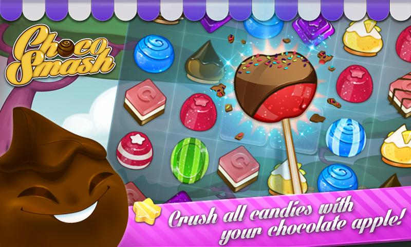 Choco Smash (Unlimited Lives)- screenshot