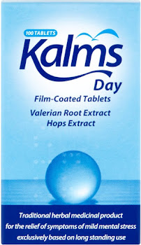 Kalms Day Film-Coated Tablets Valerian Root Extract