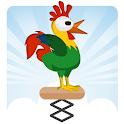 Spring Chicken Ninja Jump icon