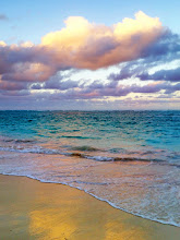 Photo: Sunset on beach in The Royal Suites Turquesa by Palladium