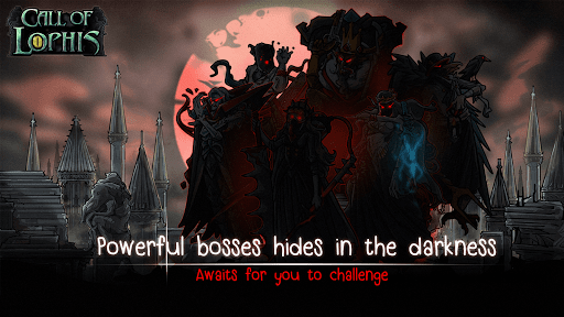 Screenshot for Lophis Roguelike:Card RPG game,Darkest Dungeon in United States Play Store
