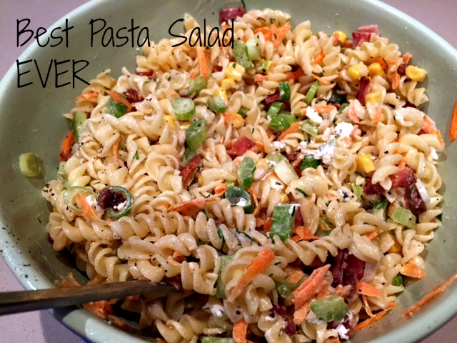 Pass the Pasta Salad please! Recipe | Yummly