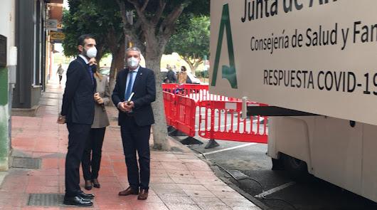 Calma tensa: Almería se mantiene en los 500 positivos pero con 7 fallecidos más