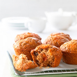 Low Fat Persimmon Muffins.