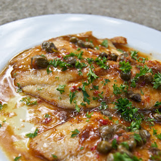 Fish in Caper Lemon Sauce Recipe