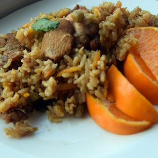 orange Flavored pilau