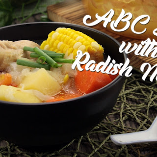 ABC Soup with Radish Noodle Recipe