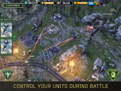 War Commander: Rogue Assault APK screenshot thumbnail 5