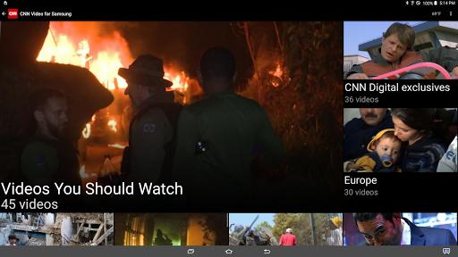 CNN for Samsung Galaxy View  screenshots 1