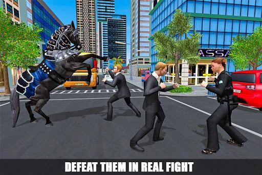 Chasse à cheval de police montée en 3D  captures d'écran 2