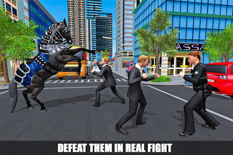 Mounted Police Horse Chase 3D screenshot
