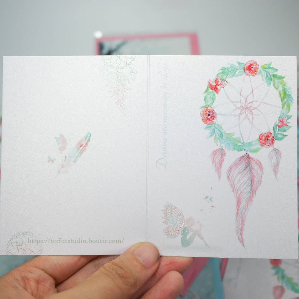 捕夢網生日卡/賀卡 Dreamcatcher Birthday / Greeting Card