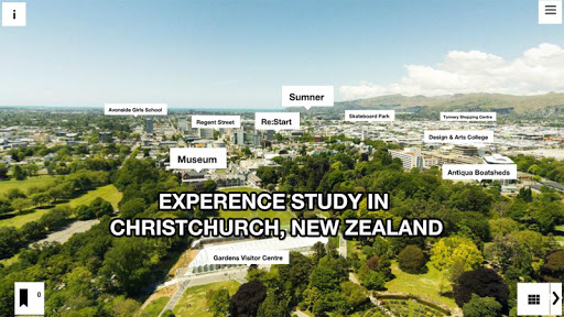 Christchurch Educated VR App