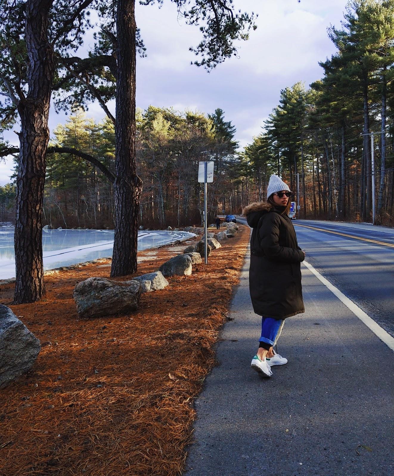 יום טיול מסלול בניו המפשייר צפון מזרח ארהב החוף המזרחי ארצות הברית