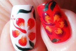 nail-art-soffiodidea-hibiscus-pupamilano