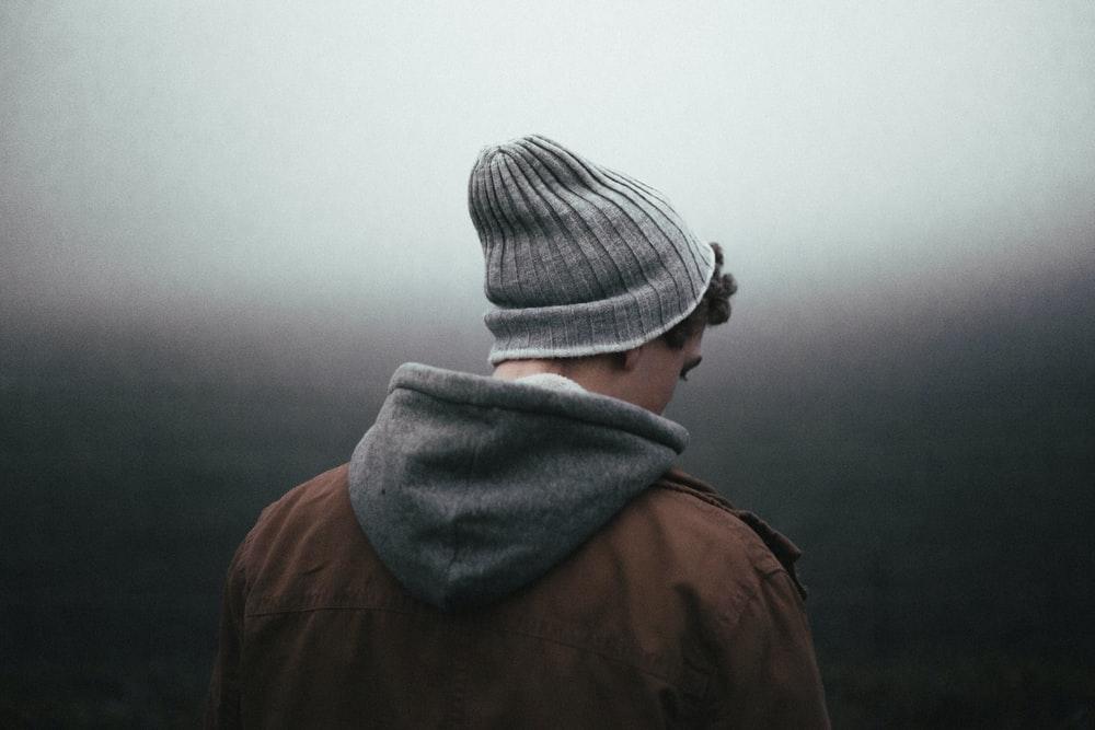 Boy in the mist
