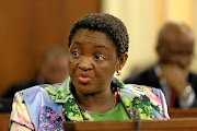 Minister in The Presidency responsible for Women Bathabile Dlamini.