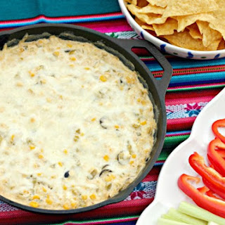 Skinny Hot Chile and Corn Dip
