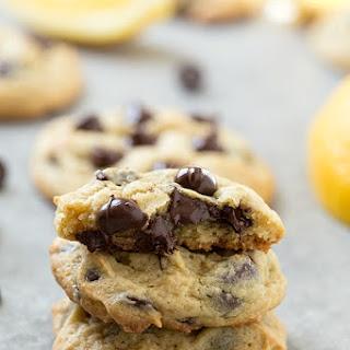 Lemon Cream Cheese Chocolate Chip Cookies