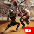 Strategy PvP Games: Gladiator Heroes 3D Clan Wars icon
