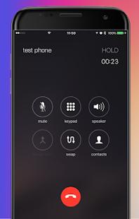 ios 11 Launcher call - náhled