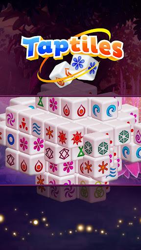 Taptiles - 3D Mahjong Puzzle Game screenshots 1
