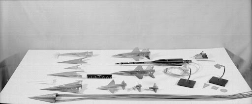 Various 11-Inch Hypersonic Tunnel Models