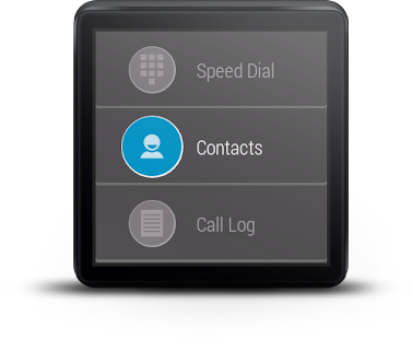 Mini Dialer for Android Wear- screenshot thumbnail