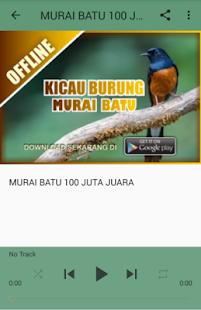 MP3 Kicau Burung Murai Batu - náhled