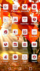 Azer Red - Icon Pack screenshot 1